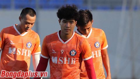 SHB Đà Nẵng tập luyện chuẩn bị cho V.League sắp trở lại