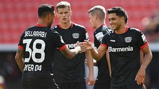 Leverkusen thắng hủy diệt, Hoffenheim nhọc nhằn đi tiếp