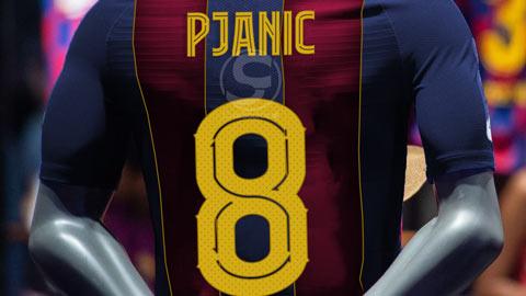 Tân binh Pjanic kế thừa số áo của huyền thoại Iniesta