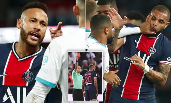 PSG thua liền 2 trận đầu mùa và mới dính vụ ẩu đả khiến 3 cầu thủ bị thẻ đỏ