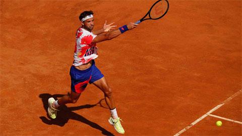 Bồ cũ của Sharapova thắng trận ra quân ở Rome