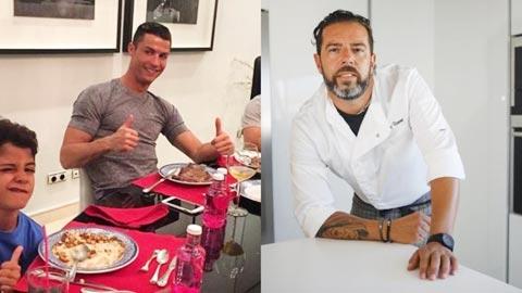 Cristiano Ronaldo  sung hơn nhờ thửa riêng siêu đầu bếp