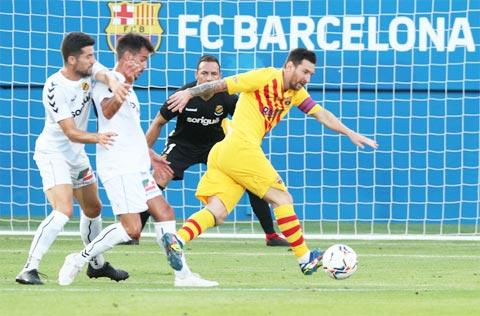 """Vắng Suares, chưa cầu thủ nào ở Barca thành công ở vị trí """"số 9"""" ở trận đấu mới đây"""