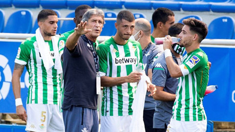 HLV Manuel Pellegrini tái xuất ở Betis
