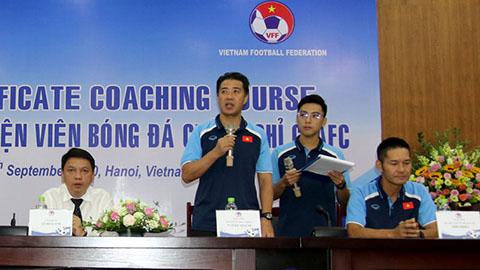 Khai giảng khóa đào tạo 'HLV chứng chỉ C' AFC 2020