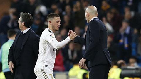 Tương lai Hazard nằm cả trong tay Zidane