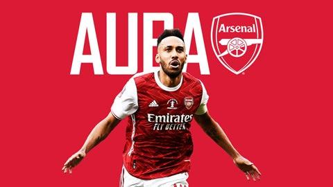 Aubameyang sẽ đút túi hơn 60 triệu bảng với hợp đồng mới cùng Arsenal