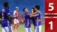 Hà Nội FC 5-1 TP.HCM (BK Cúp Quốc gia 2020)