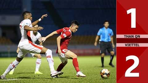 Than Quảng Ninh 1-2 Viettel (BK Cúp QG 2020)