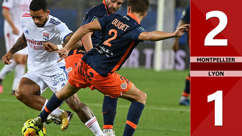 Montpellier 2-1 Lyon (Vòng 1 Ligue 1 2020/21)