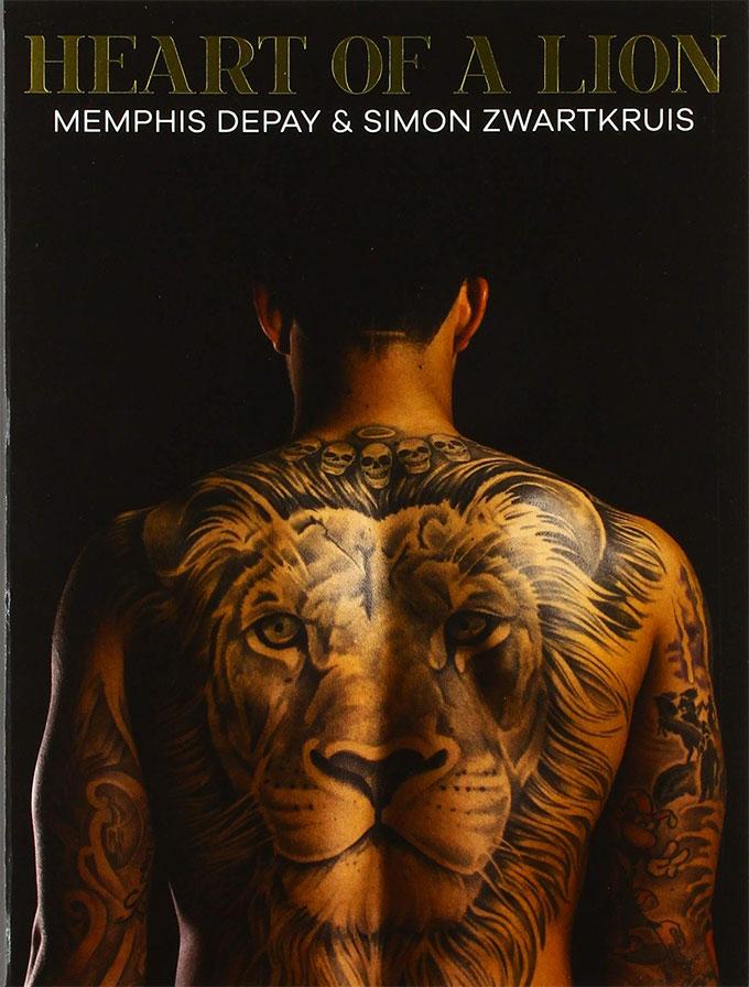 Cuốn sách mới được Depay xuất bản năm ngoái