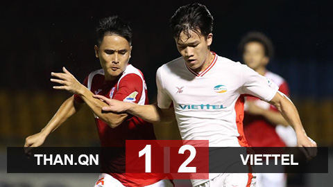 Than.QN 1-2 Viettel: Hậu duệ Thể Công lần đầu vào chung kết Cúp Quốc gia