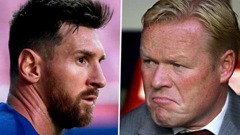 Koeman và Pjanic bày tỏ ngưỡng mộ Messi