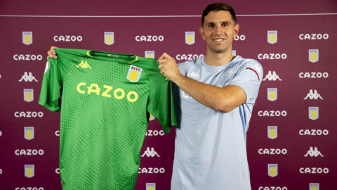 Aston Villa mua xong thủ môn xịn xò từ Arsenal