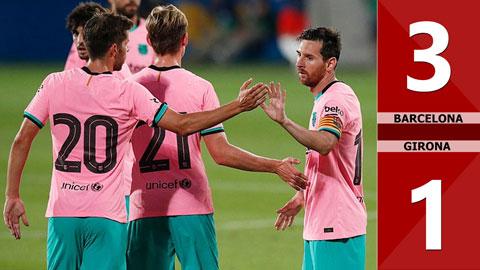 Barcelona 3-1 Girona (Giao hữu 2020)