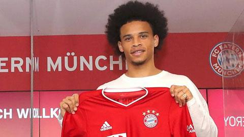 Chiêu mộ thêm Sane, Bayern đã mạnh càng thêm mạnh