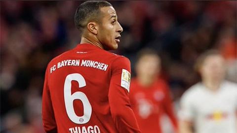 Thiago Alcantara ăn đứt các tiền vệ Liverpool ở nhiều chỉ số
