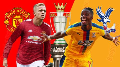 Nhận định bóng đá Man United vs Crystal Palace, 23h30 ngày 19/9: Lết qua Crystal Palace
