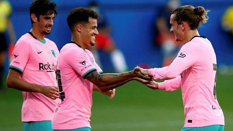 Coutinho cứng cáp dưới đôi cánh của Messi