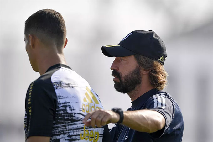 Pirlo cùng Ronaldo sẽ có một thử thách rất lớn