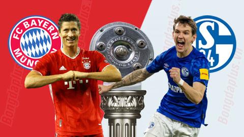 Nhận định bóng đá Bayern vs Schalke, 1h30 ngày 19/9: Nhà vua giương oai