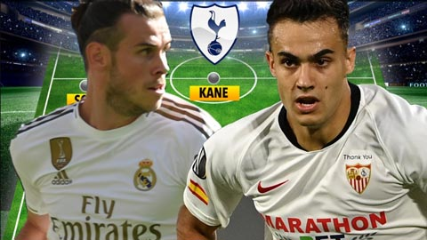 Tottenham đá đội hình nào khi mua được Bale và Reguilon?