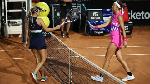 Nhà vô địch Australian Open 2020 thua trắng hai set ở Rome