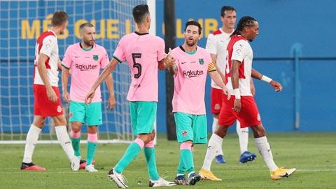 Messi trở lại, và vẫn là một Messi thiên tài