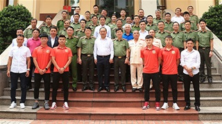 Đội bóng Công an Nhân dân đặt mục tiêu thăng hạng