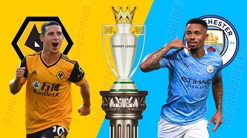 Nhận định bóng đá Wolves vs Man City, 2h15 ngày 22/9: Rơi điểm trong 'hang sói'