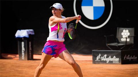 Simona Halep trở lại tứ kết Italian Open