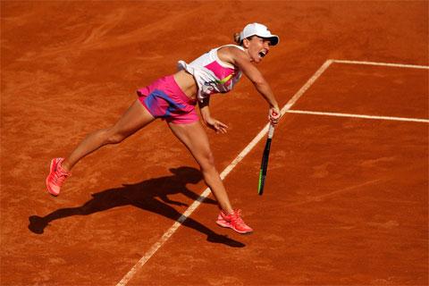 Simona Halep quyết tâm hoàn thành được mục tiêu ở Rome