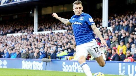 Digne, vũ khí cánh trái hiệu quả của Everton