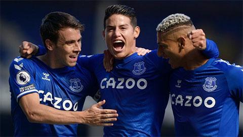 Tường thuật Everton 5-2 West Brom