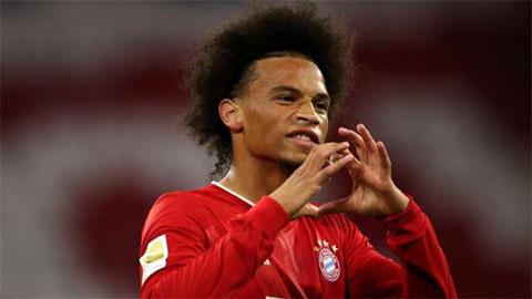 Leroy Sane giúp Bayern vùi dập cố nhân Schalke không thương tiếc