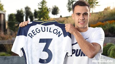 Tottenham ký hợp đồng 5 năm với Reguilon