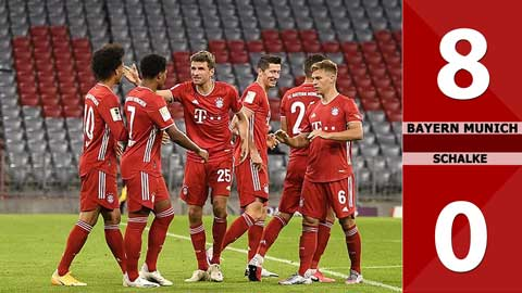 Bayern Munich 8-0 Schalke (Vòng 1 Bundesliga 2020/21)