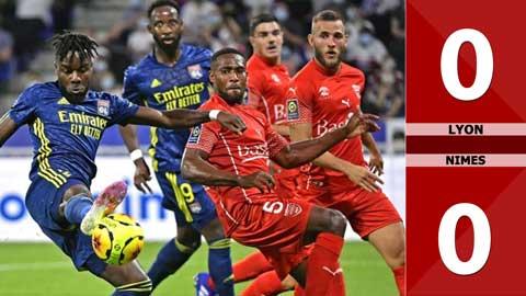 Lyon 0-0 Nimes ( Vòng 4 Ligue 1 - 2020/21)