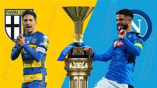 17h30 ngày 20/9: Parma vs Napoli