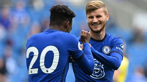 Chelsea và động cơ tăng áp Timo Werner