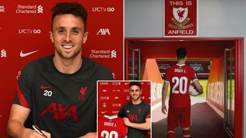 Diogo Jota đến Liverpool: Siêu dự bị của hôm nay và siêu sao của tương lai