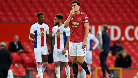 Thấy gì từ thất bại thảm hại của M.U trước Crystal Palace?