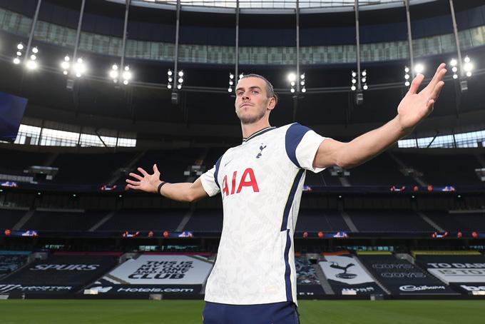 Bale vừa quay lại Tottenham theo hợp đồng cho mượn 1 năm từ Real