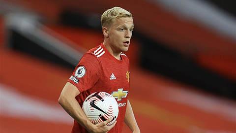 Van de Beek chưa biết thắng từ lúc ký hợp đồng với M.U