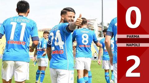 Parma 0-2 Napoli (vòng 1 Serie A 2020/21)