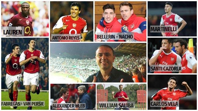 Francis Cagigao và những thương vụ thành công được ông mang về Arsenal
