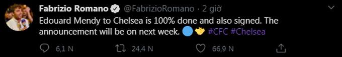 Nguồn tin đáng tin cậy từ Romano