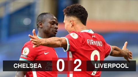 Kết quả Chelsea 0-2 Liverpool: Kepa 'nghịch dại' góp công giúp Liverpool giành 3 điểm
