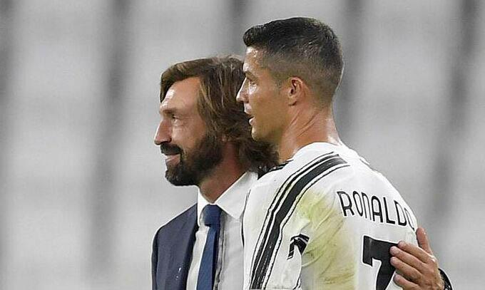 """Pirlo sẽ bố trí Ronaldo """"nghỉ ngơi"""" trong mùa giải 2020/21"""