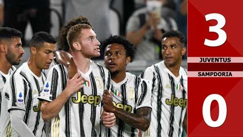 Juventus 3-0 Sampdoria (Vòng 1 Serie A 2020/21)